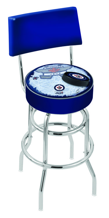 Winnipeg Jets Bar Stool