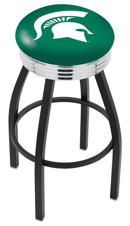 Michigan State Bar Stool