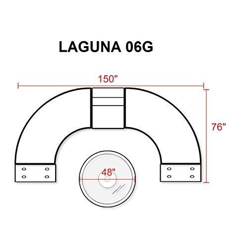 Laguna 6 Piece Outdoor Wicker Patio Furniture Set 06g