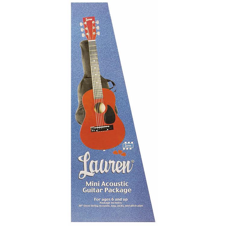 30in. Guitar Package Met. Red