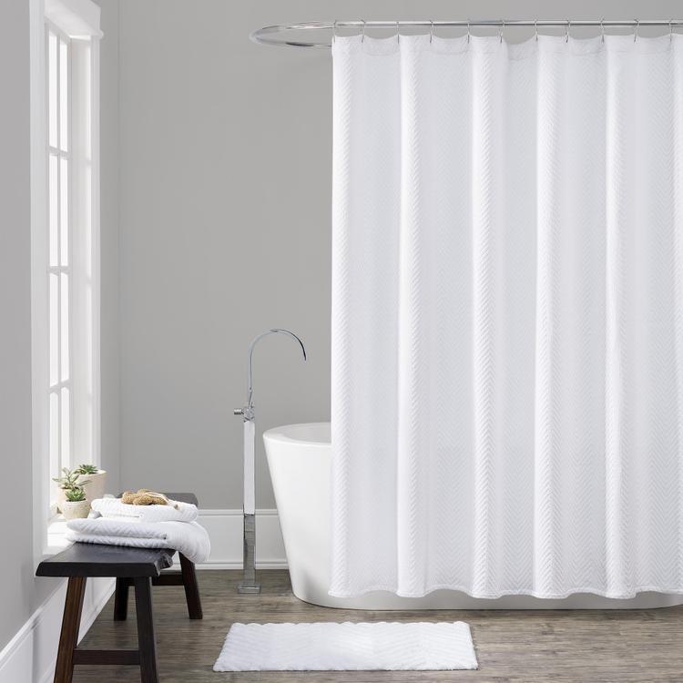 LaMont Home Chevron Shower Curtain