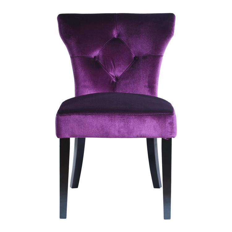 Armen Living Elise Side Chair
