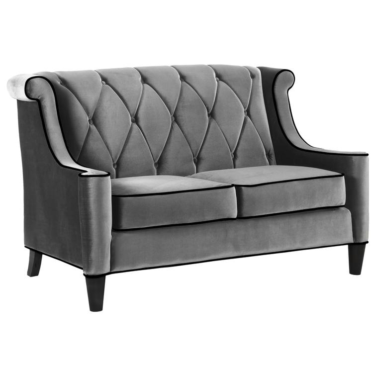 Armen Living Barrister Loveseat