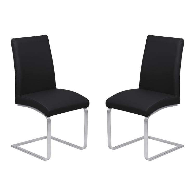 Armen Living Blanca Contemporary Dining Chair