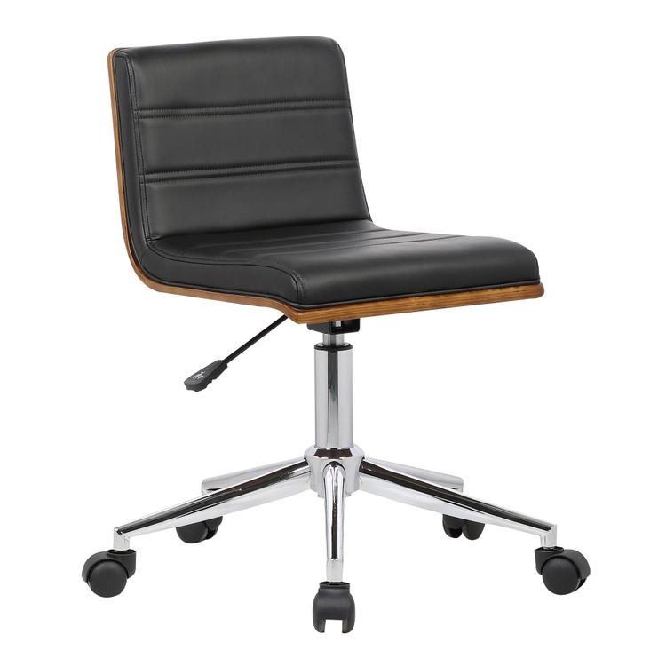 Armen Living Bowie Mid-Century Office Chair