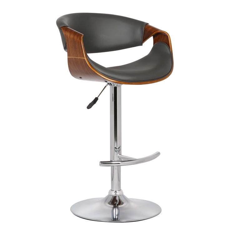 Armen Living Butterfly Adjustable Swivel Barstool