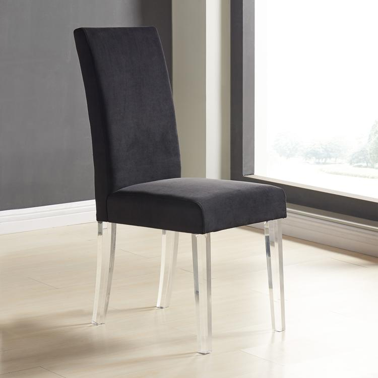 Armen Living Dalia Contemporary Dining Chair