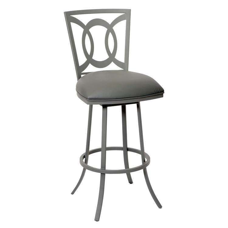 Armen Living Drake Transitional Barstool