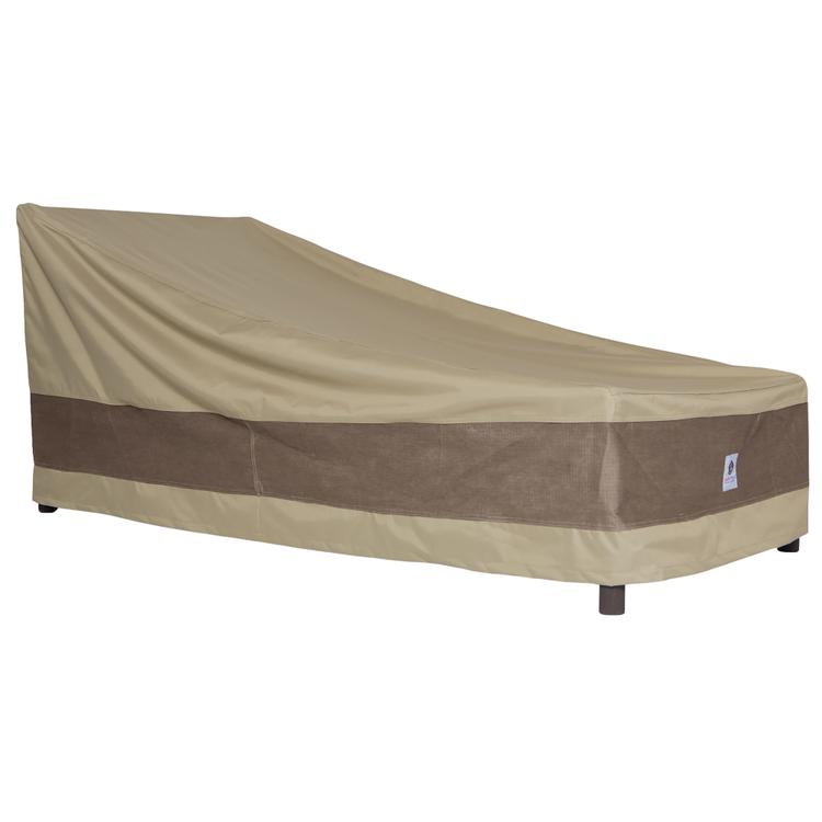Duck Covers Elegant 86 in. L Patio Chaise Lounge Cover