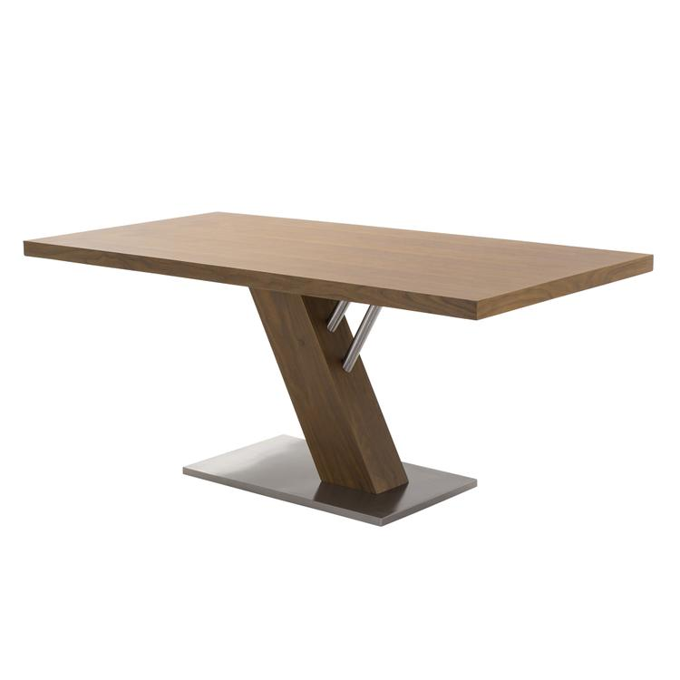 Armen Living Fusion Contemporary Dining Table
