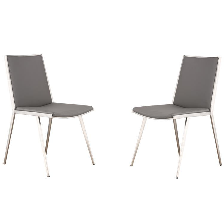 Armen Living Ibiza Dining Chair Set of 2