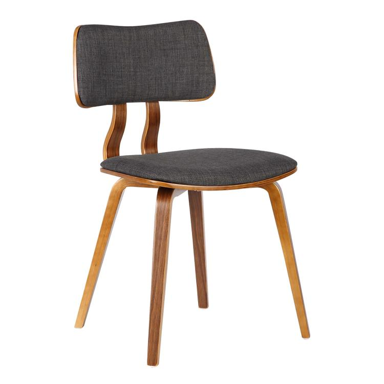 Armen Living Jaguar Mid-Century Dining Chair