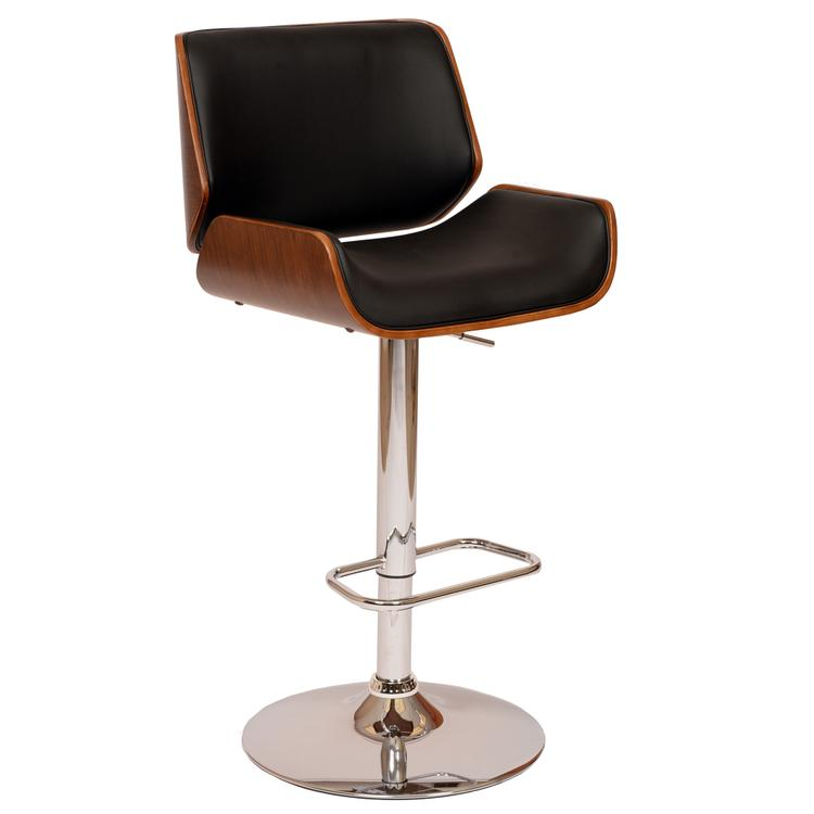 Armen Living London Swivel Barstool