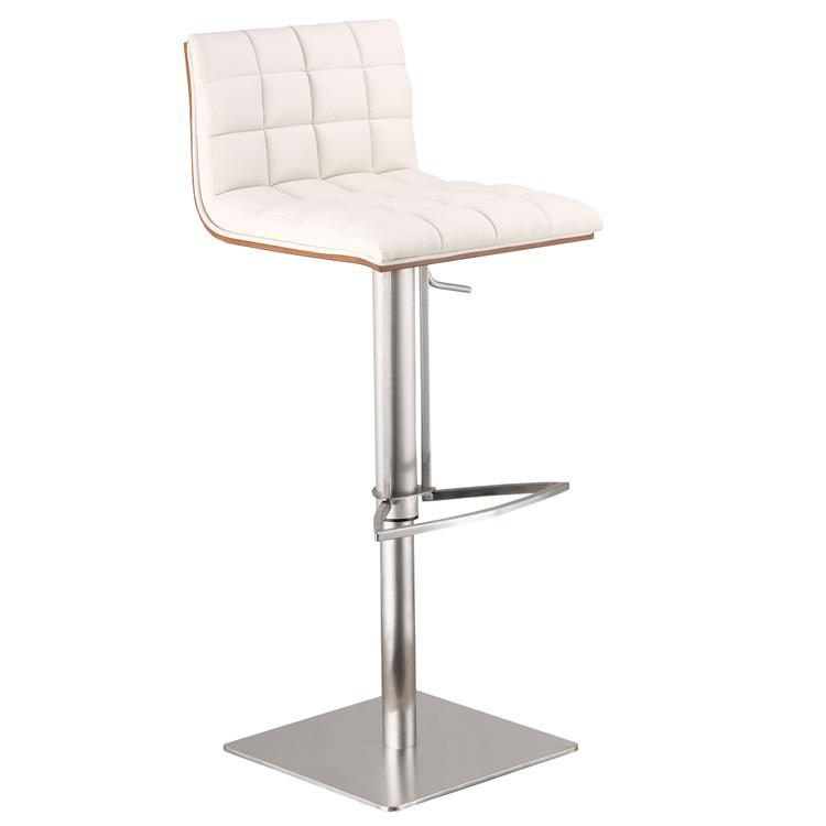 Armen Living Oslo Adjustable Barstool