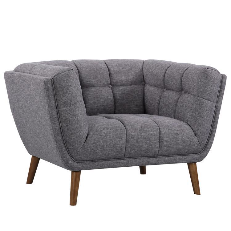 Armen Living Phantom Mid-Century Modern Chair