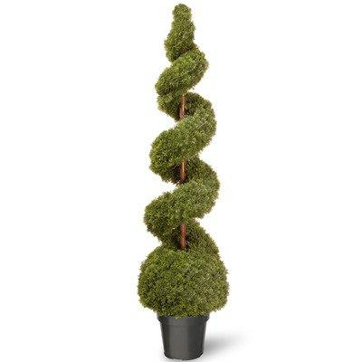 National Tree Artificial Cedar Pine Topiary in Green Pot