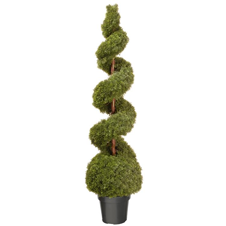 National Tree Artificial Cedar Topiary [Item # LCSB4-700-60]
