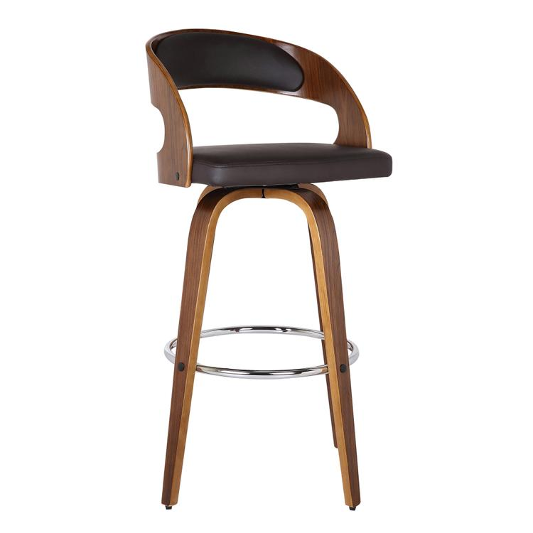 Armen Living Shelly Counter Height Barstool