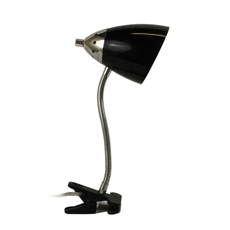 LimeLights Flossy Flexible Gooseneck Clip Light