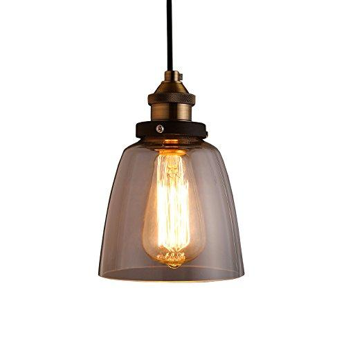 Warehouse of Tiffany Shantelle Adjustable Cord 6-inch Pendant Light with Light Bulb