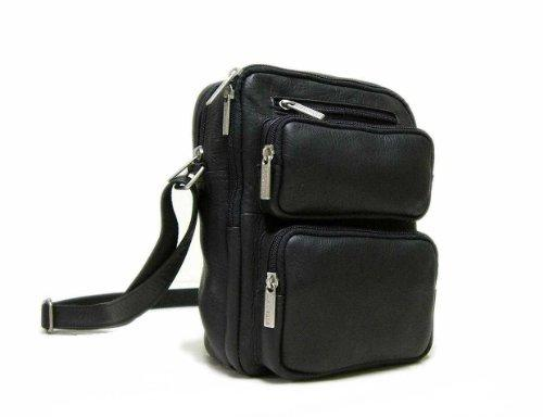 Men'S Multi Pocket Body Organizer [Item # LD-082-BL]