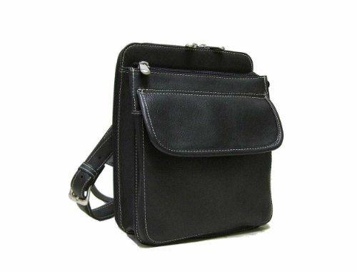 Structured Organizer Shoulder Bag