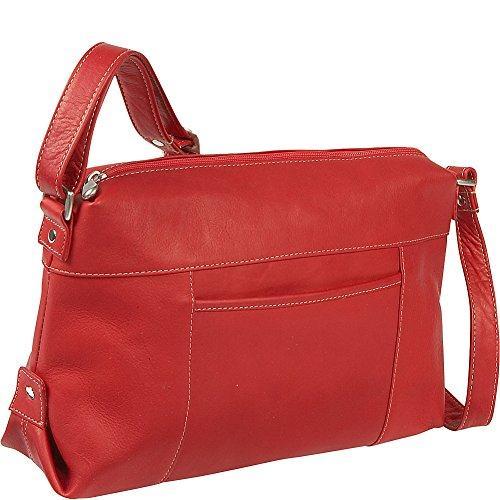 Top Zip Front Slip Handbag