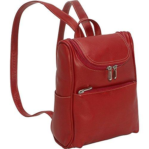 Women'S Backpack Purse [Item # LD-9102-Red]