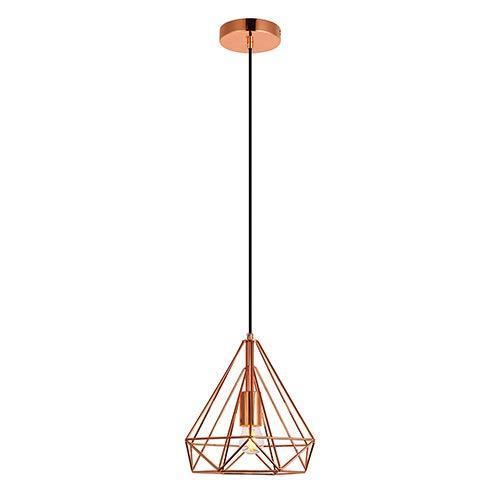 Elegant Lighting Jago Collection Pendant D9.8 H9.8 Lt:1 Copper Finish