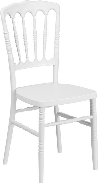 Hercules Series Resin Stacking Napoleon Chair