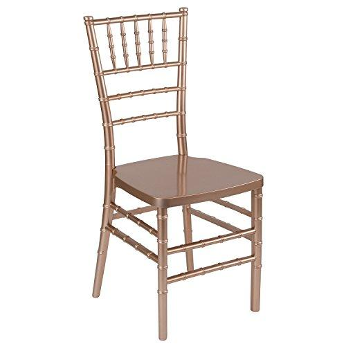HERCULES PREMIUM Series Rose Resin Stacking Chiavari Chair