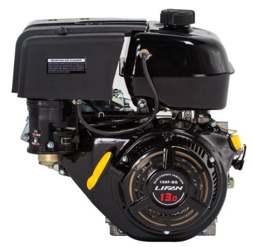 13 HP 389cc 4-Stroke OHV Industrial Grade Gas Engine with Recoil Start and Universal Mounting Pattern