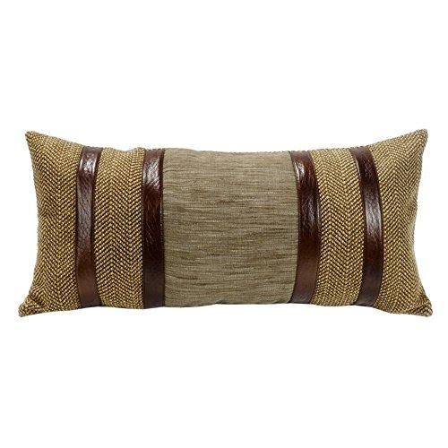 Herringbone with Faux Lether Stripes, 12x26 [Item # LG1860P7]