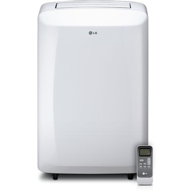 10,000 BTU 115V Portable Air Conditioner with Remote Control - White