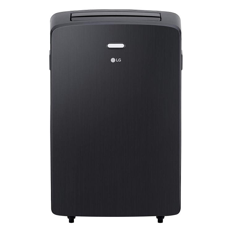 LG 115V Portable Air Conditioner with Remote Control in Graphite Gray for Rooms up to 400 Sq. Ft.