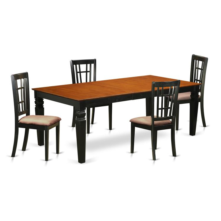 Dining Room Set - Dining Table And Dining Chairs [Item # LGNI5-BCH-C]