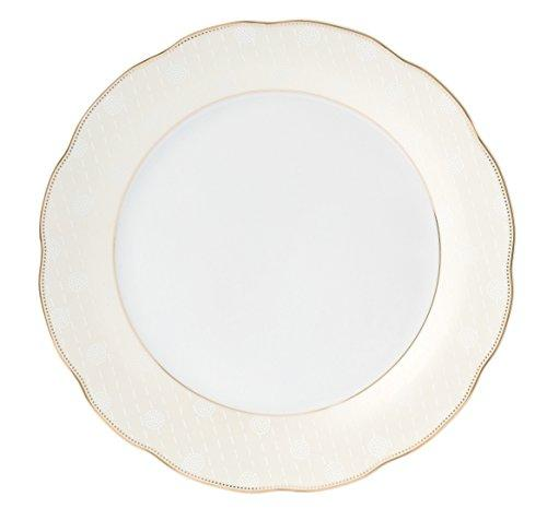 24 Piece Wavy Dinnerware-Porcelain-Srvice for 4-Tova