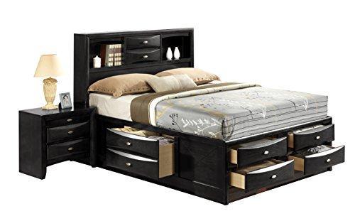 Global Furniture King Bed Black