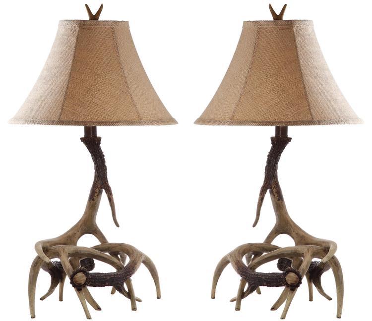 Safavieh Sundance Antler Table Lamp - Set Of 2