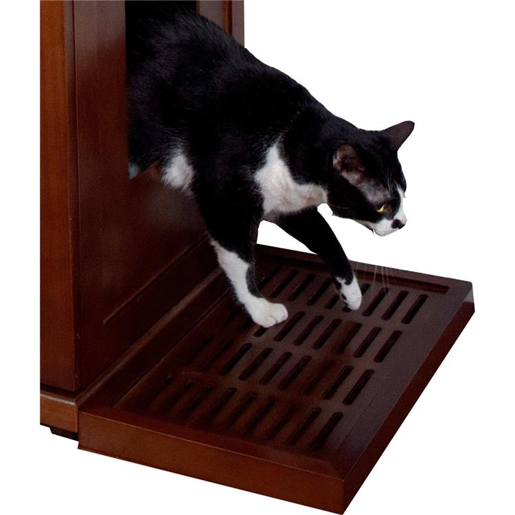 Litter Catch for the Refined Litter Box - Mahogany