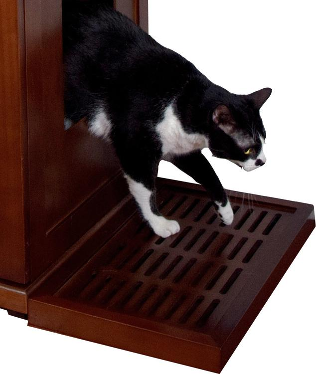 The Refined Feline Litter Catch for the Refined Litter Box - Mahogany
