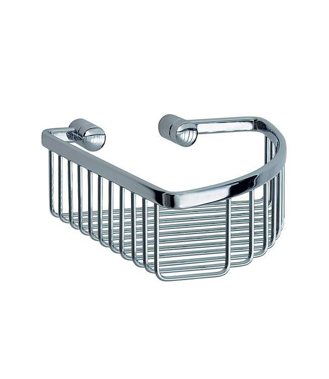 Smedbo SME LK374 Corner Soap Basket, Polished Chrome,