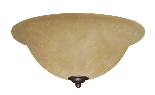 Amber Parchment Light Fixture