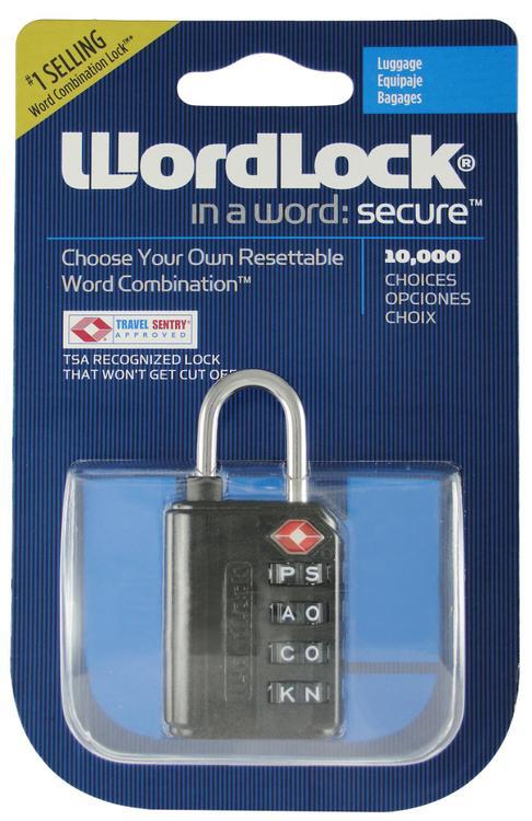 Ll-203-Bk Luggage Lock Blk