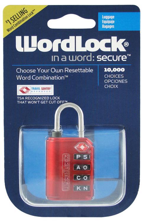 Ll-206-Rd Luggage Lock Red