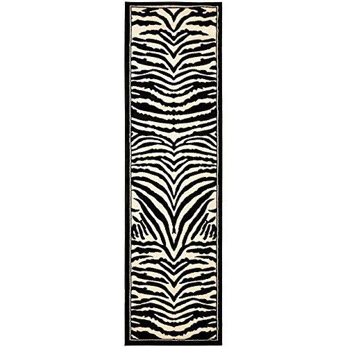 Traditional Rug - Lyndhurst Polypropylene, 2150Gr/Sqm -White/Black