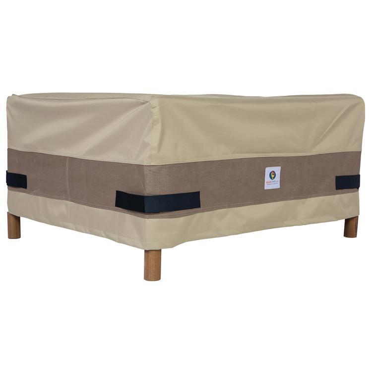 Duck Covers Elegant 32 in. Square Patio Ottoman/Side Table Cover