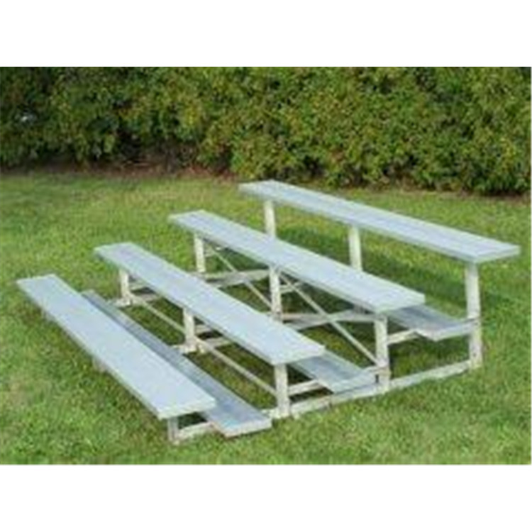 BSN Sports 4 Row Low Rise Bleacher
