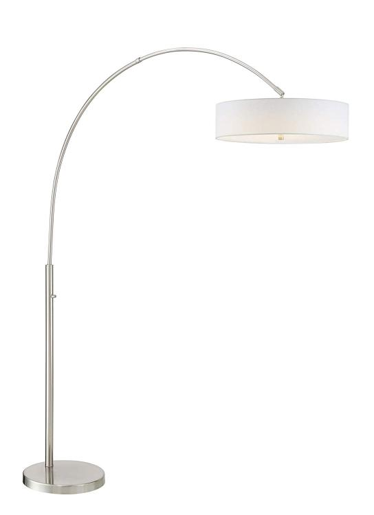 WILKERSON ARCH LAMP [Item # LS-83192BN/WHT]