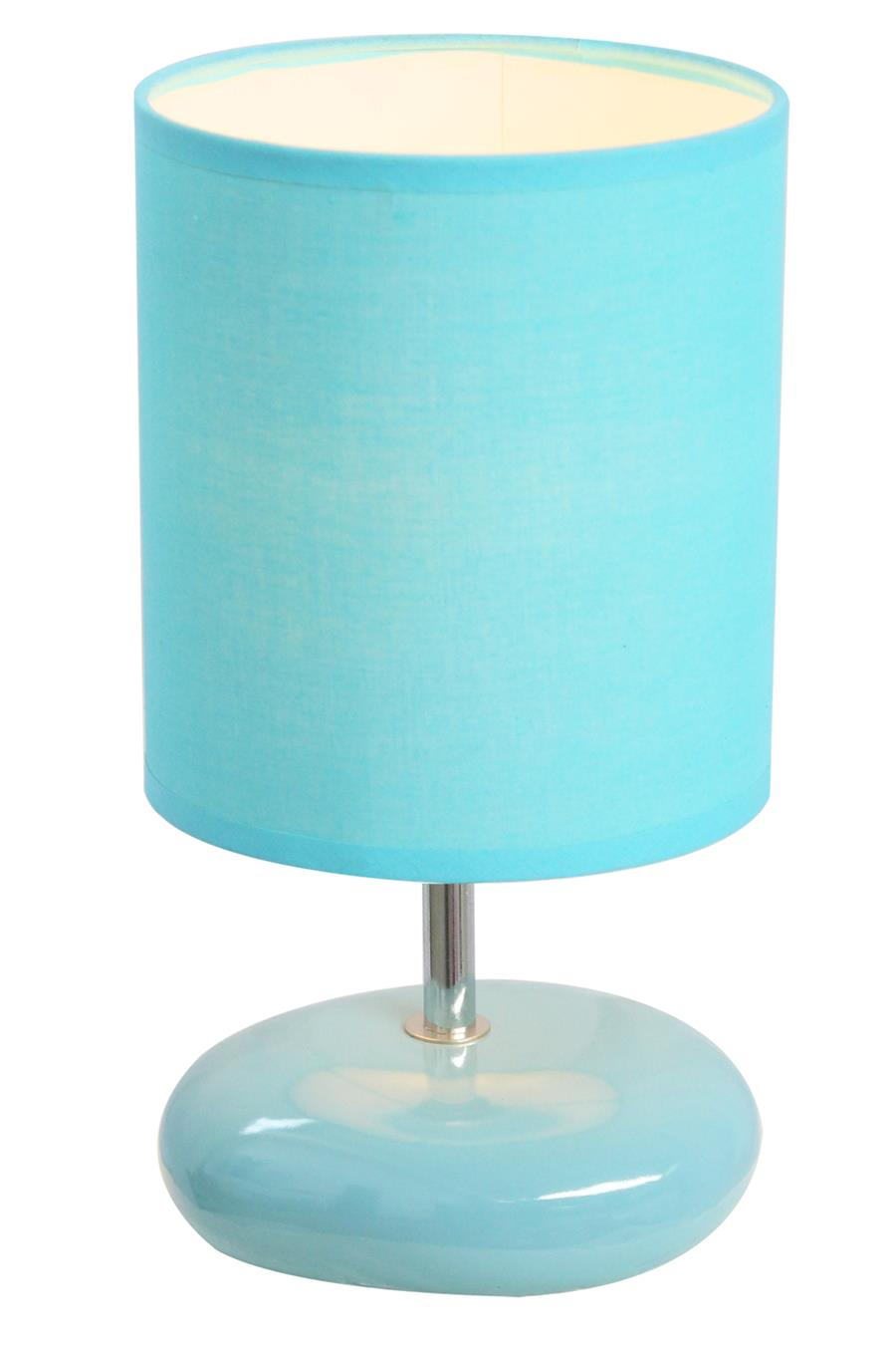 Small Stone Look Table Lamp